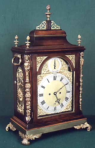 A George III period mahogany longcase clock by Ralph Eden, Liverpool