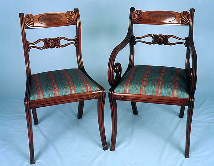 - English And Continental Antique Chairs.
